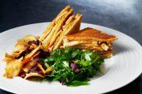 Asssiette club sandwich poulet Saté