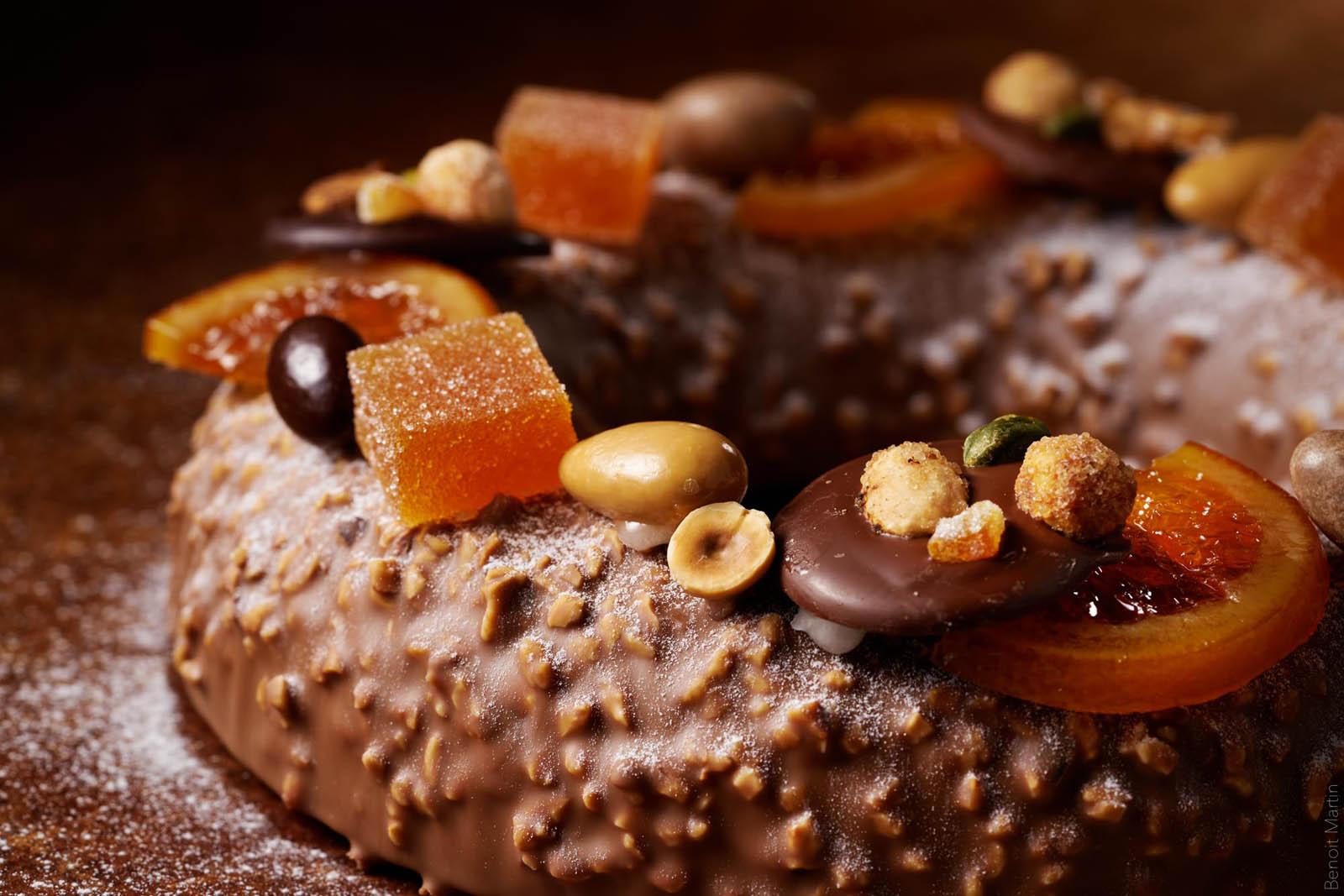 Pâtisserie : La couronne de Noël