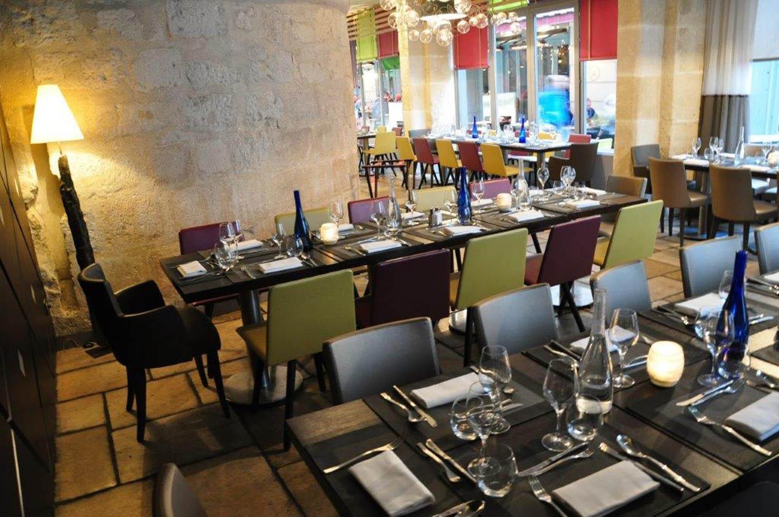 Salle de Restaurant en configuration Déjeuner de groupe