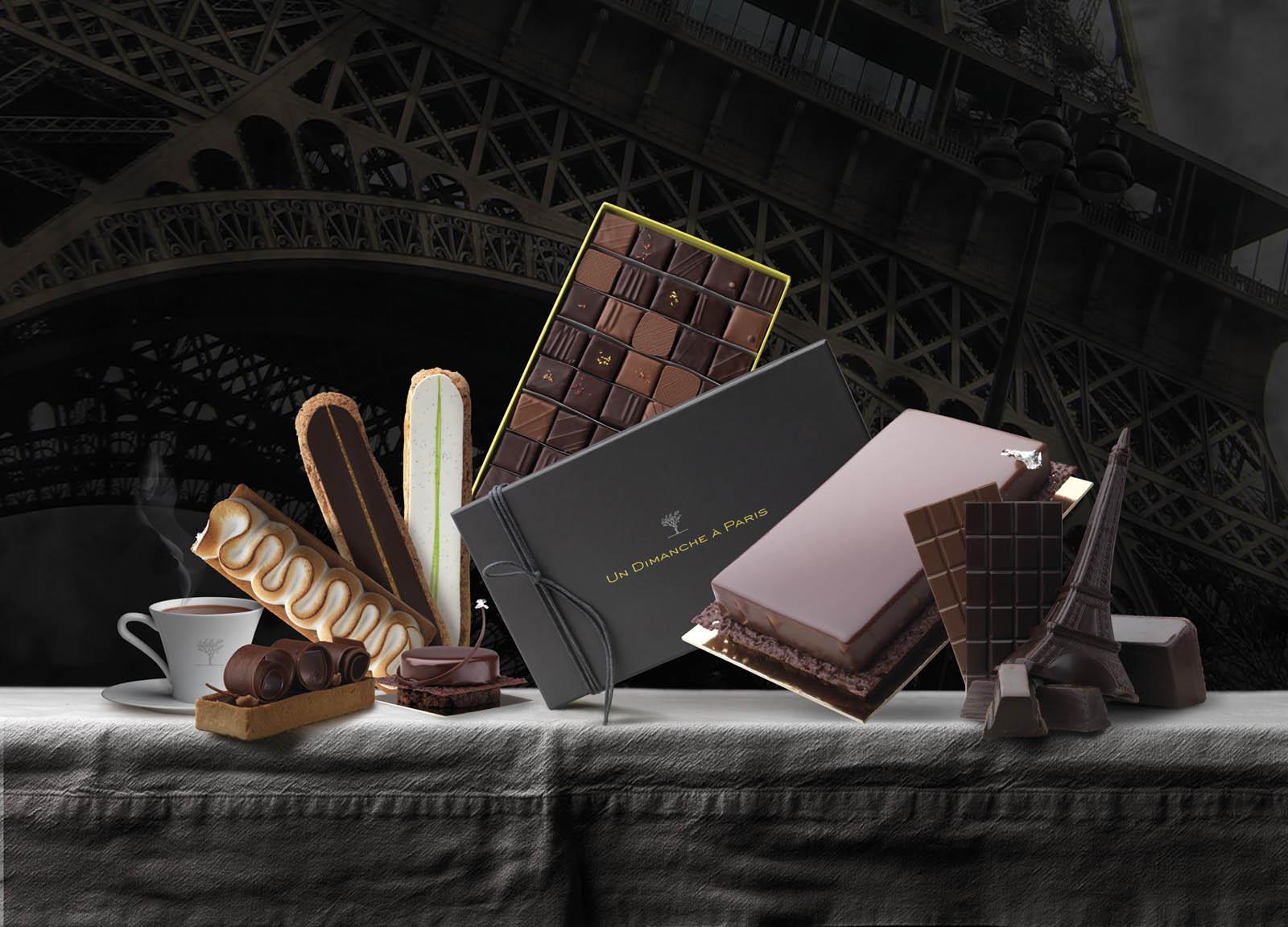 Un dimanche à Paris : nos produits
