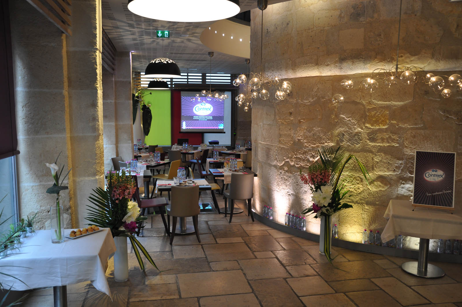 restaurant événement d'entreprise
